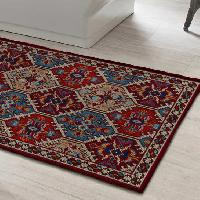 Kirman, kit tapis point noué Smyrnalaine, 100 X 150 cm