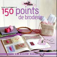 150 points de broderie, livre broderie traditionnelle