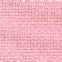 Coupon Aïda Brod Star 5.5 pts/cm, 100% coton, 40 X 45 cm, coloris Rose