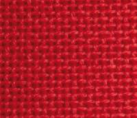 Coupon ETAMINE 100% coton, 11 fils / cm, coloris rouge, 40 X 45 cm, collection BROD STAR