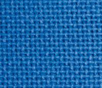 Coupon ETAMINE 100% coton, 11 fils / cm, coloris bleu, 40 X 45 cm, collection BROD STAR
