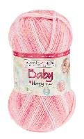 Baby Happy Color, 50 g, 185 M, 10 pelotes