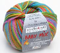 Baby Mix Color, 50 g, 135 M, 10 pelotes