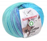 Bio Cotton Color, 50 g, 180 M, 10 pelotes