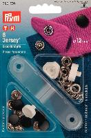 Boutons pressions Jersey Noirs avec outil, 12 mm Prym