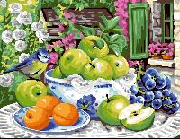 Composition aux Fruits, canevas Rafael Angelo