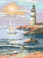 Le phare, canevas Margot de Paris
