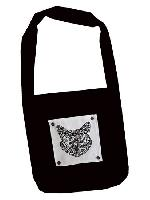 Chat tribal, kit sac broderie traditionnelle