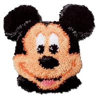 Mickey Mouse, kit coussin au point noué Vervaco