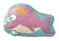 Baleine, kit couture doudou en velours