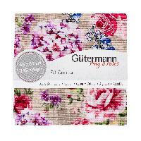 Fat Quarter Portofino, coupons Gütermann, lot de 3 unités