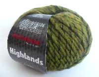 Laine HIGHLANDS, 8% Alpaga, lot de 10 pelotes