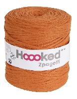 Fil crochet Hoooked Zpagetti DMC, coloris ORANGE