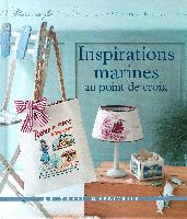Inspirations marines au point de croix, livre
