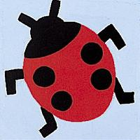 Coccinelle, kit canevas enfant Margot de Paris