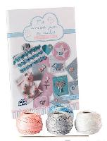 Instants de tendresse, kit crochet