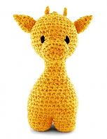 Kit crochet Girafe DMC, 2 coloris