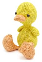 Abby le Poussin, kit crochet HardiCraft