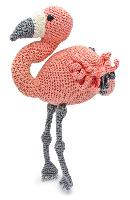Coco le Flamand Rose, kit crochet HardiCraft