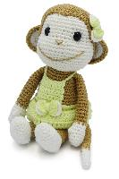 Nikki le Singe, kit crochet HardiCraft