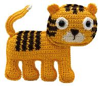 Oscar le Tigre, kit crochet HardiCraft