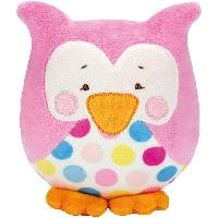 Kit doudou Kullaloo Hibou Lou Rose