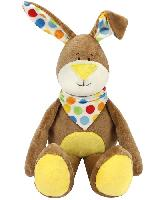 Kit doudou Kullaloo Lapin Kulio Marron
