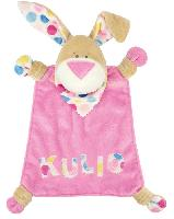 Kit doudou Kullaloo Lapin Kulio Rose