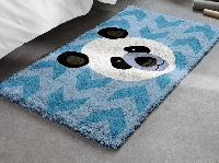 Panda, kit tapis point noué Smyrnalaine, 100 X 50 cm