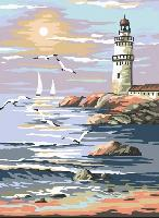 Le Phare, kit canevas Margot, 30 X 40 cm
