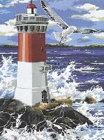 Le Phare, kit canevas Seg de Paris, 40 X 50 cm
