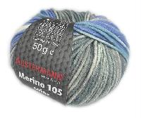MERINO 105 COLOR, 50 g, 105 M, 10 pelotes