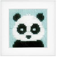 Panda, kit canevas au point lancé Vervaco