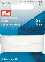 Ruban serge coton lint, 5 M, largeur 10 mm