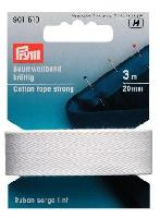 Ruban serge coton lint, 3 M, largeur 20 mm