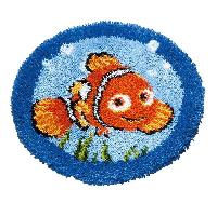 Nemo Disney, kit tapis au point noué Vervaco