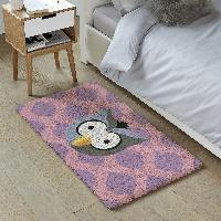 Hibou, kit tapis point noué Smyrnalaine, 100 X 50 cm