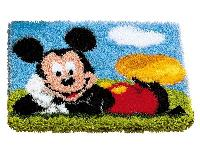 Mickey Mouse Disney, kit tapis point noué Vervaco
