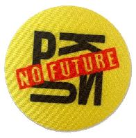"Thermocollant "" Punk No Future "" Bohin, coloris Jaune"